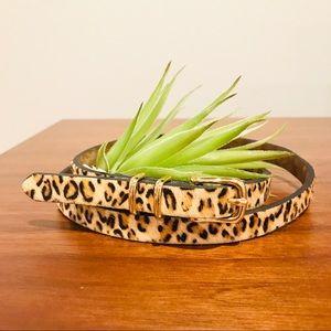 Sale 🐳 Banana Republic Animal Print Belt